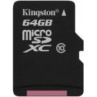 microSDXC Kingston 64Gb class 10