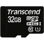 microSDHC (UHS-I) Transcend 32Gb class 10