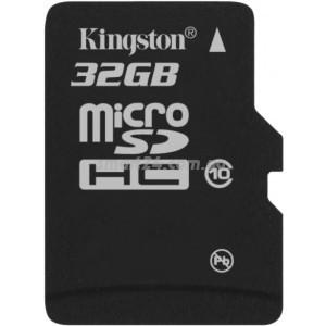 microSDHC Kingston 32Gb class 10
