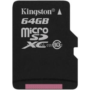 microSDXC Kingston 64Gb class 10