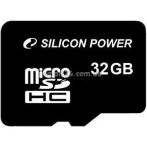 microSDHC Silicon Power 32Gb class 10